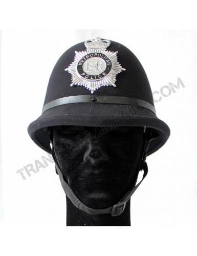 Casque anglais de la Métropolitan Police (reproduction)