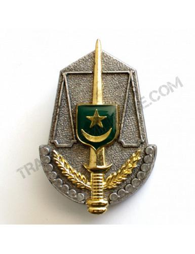 Insigne béret Mauritanie (justice)