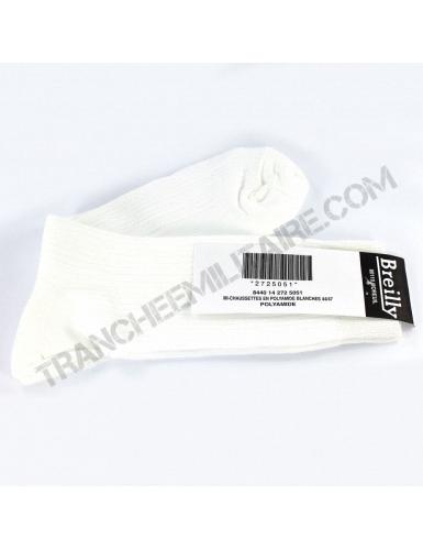 Chaussettes de sport blanches