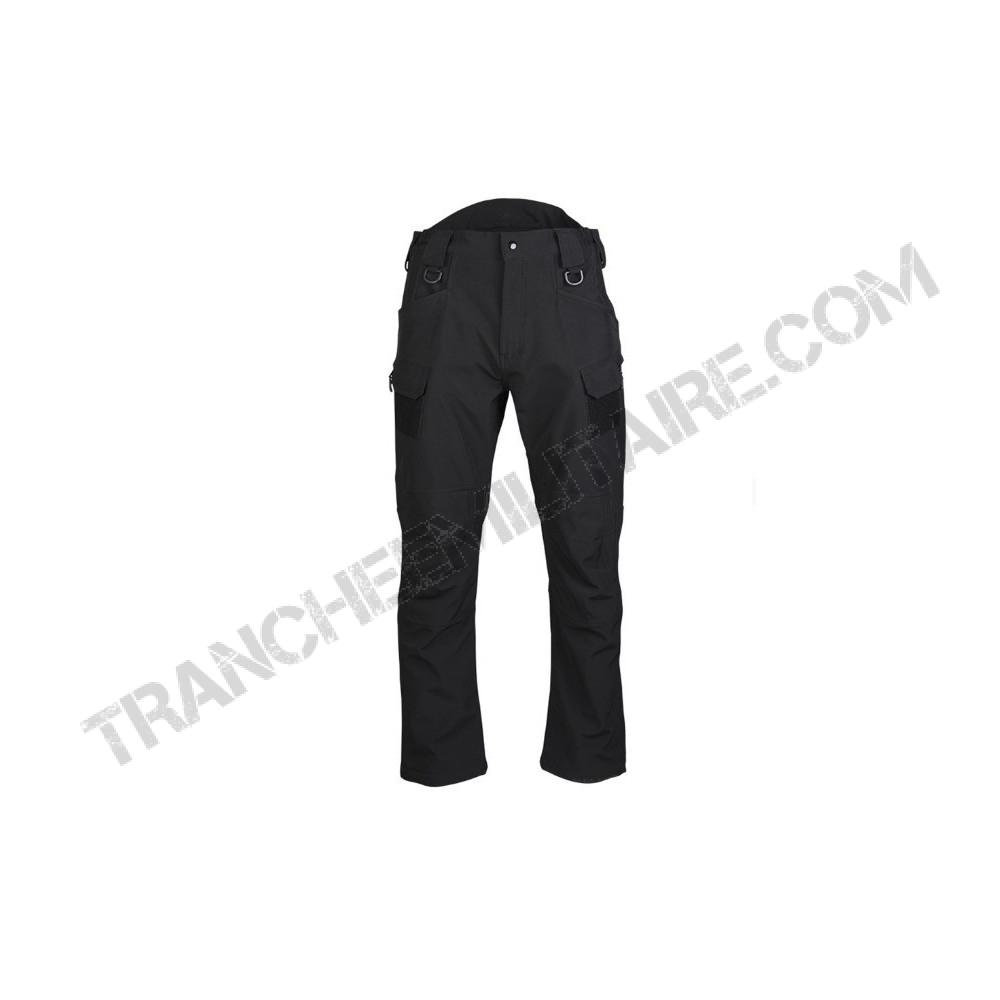 Pantalon softshell Assault (noir)