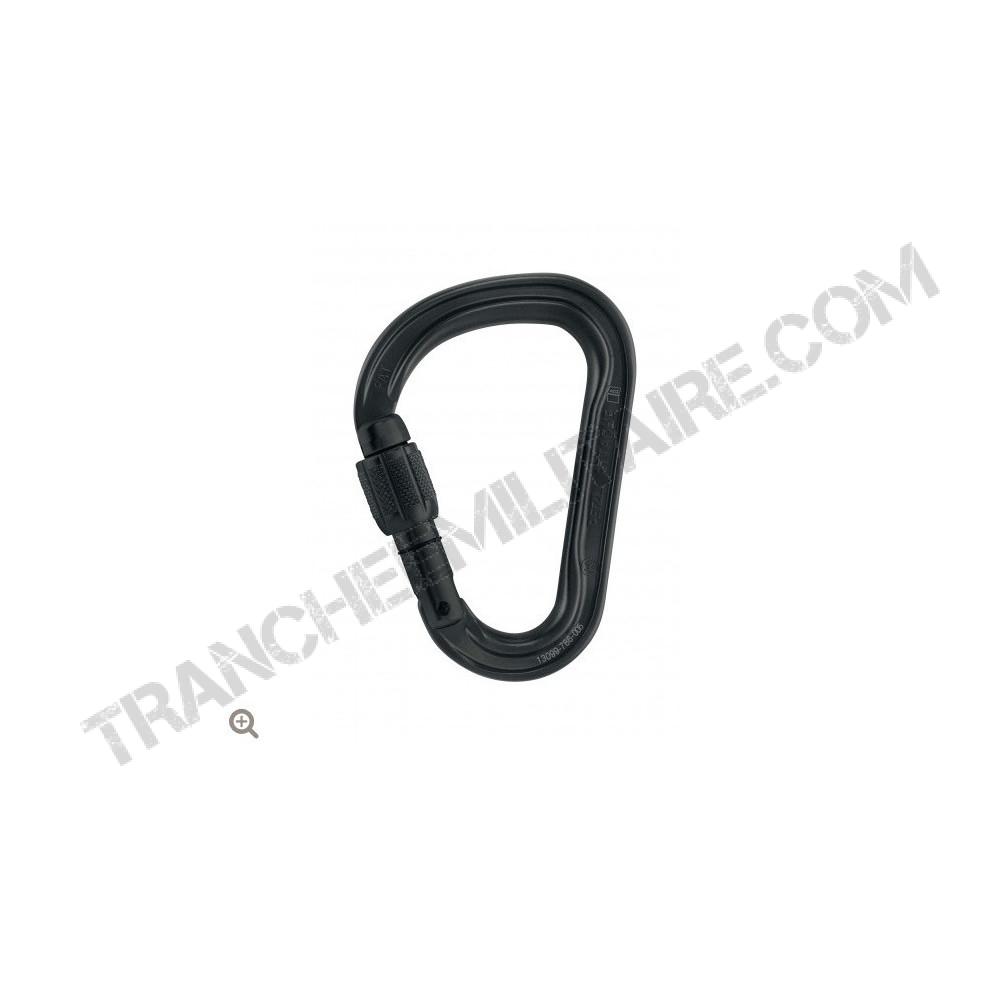 Mousqueton asymétrique ultra-léger attache à verrouillage Screw-Lock®
