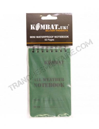 Carnet tous temps waterproof (8*12 cm)