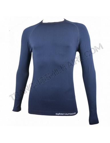 Tee-shirt thermorégulant Technical Line Summit Outdoor (bleu marine)