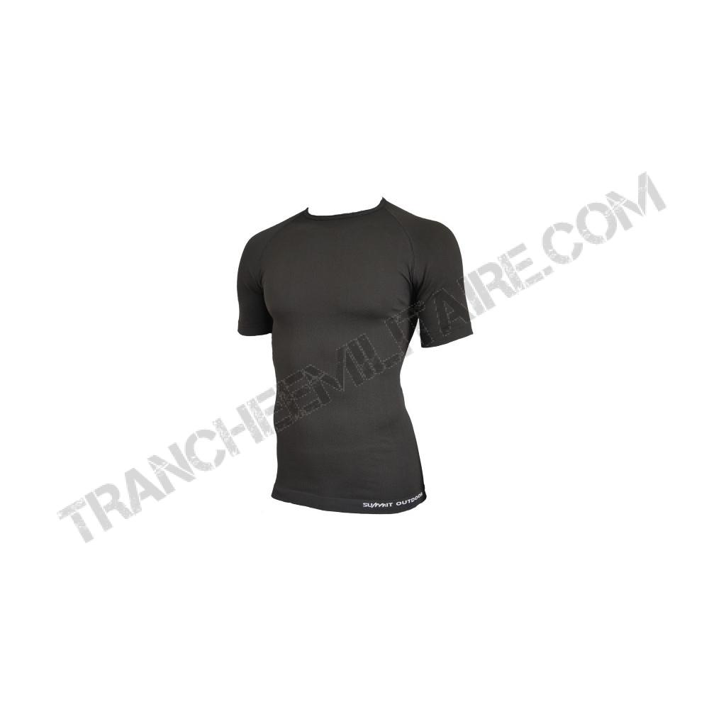 Tee-shirt Technical Line MC (noir)