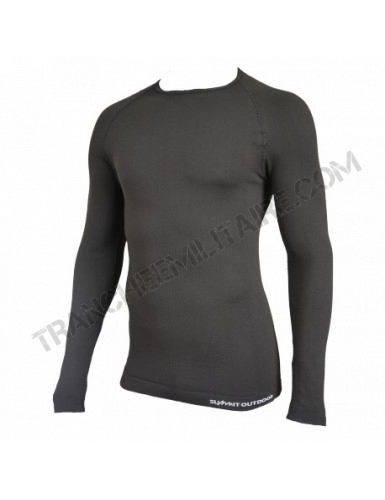 Tee-shirt thermorégulant Technical Line Summit Outdoor (Noir)