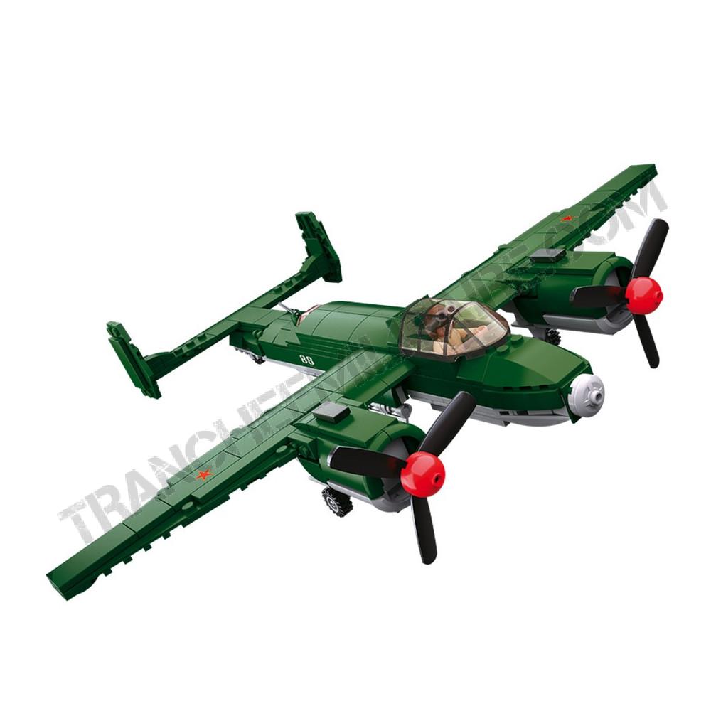 """Briques Sluban """"bombardier russe"""" (M38-B0688)"""