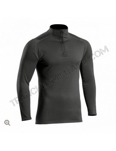 Sweat zippé Thermo Performer niveau 3 noir