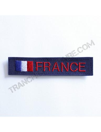 Bande patronymique personnalisable France bleu