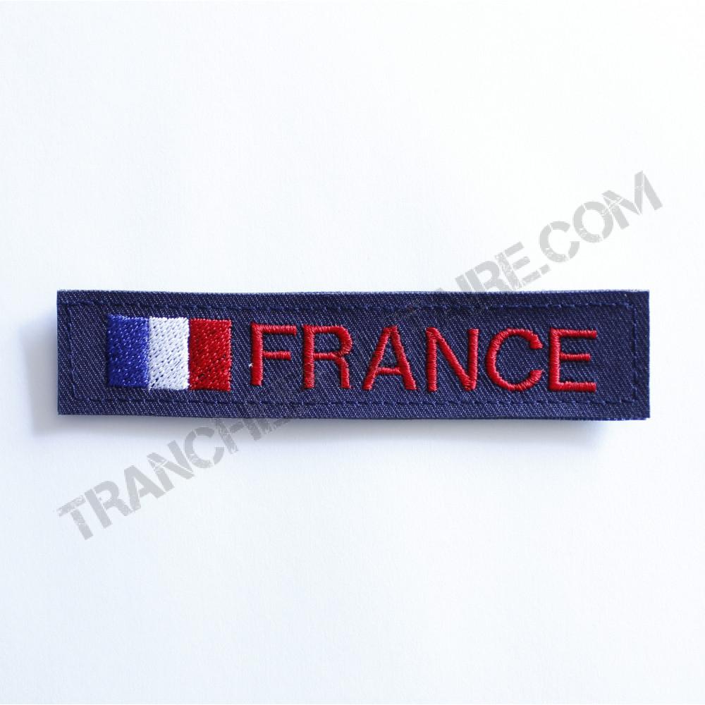 Nouveau Bande patronymique personnalisable France bleu 05be01411b3