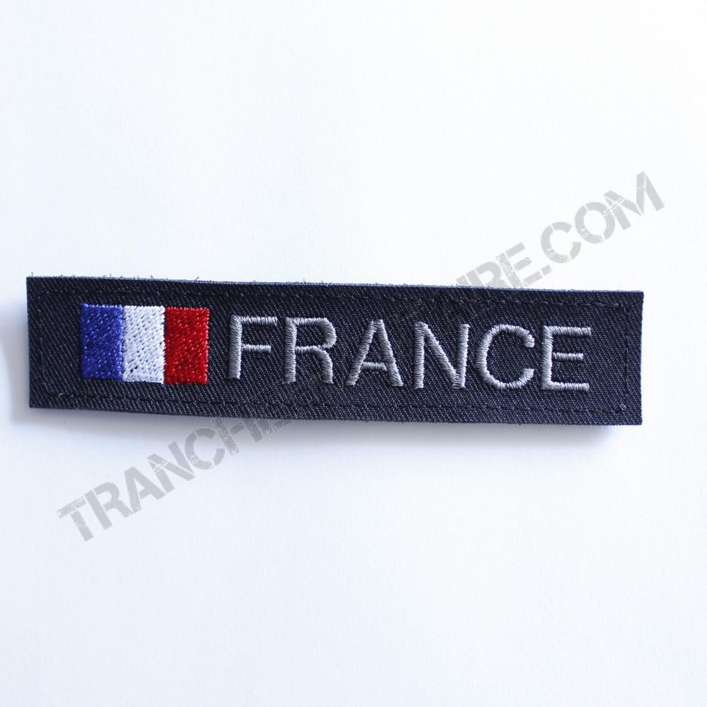 Bande patronymique personnalisable France noir