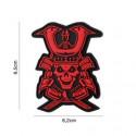 Patch 3D PVC : Crâne de Samouraï