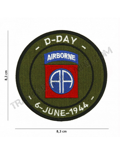 Patch D-Day 82nd Airborne