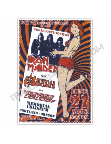 Affiche Iron Maiden