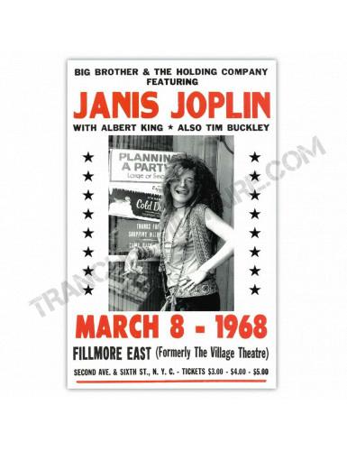 Affiche Janis Joplin