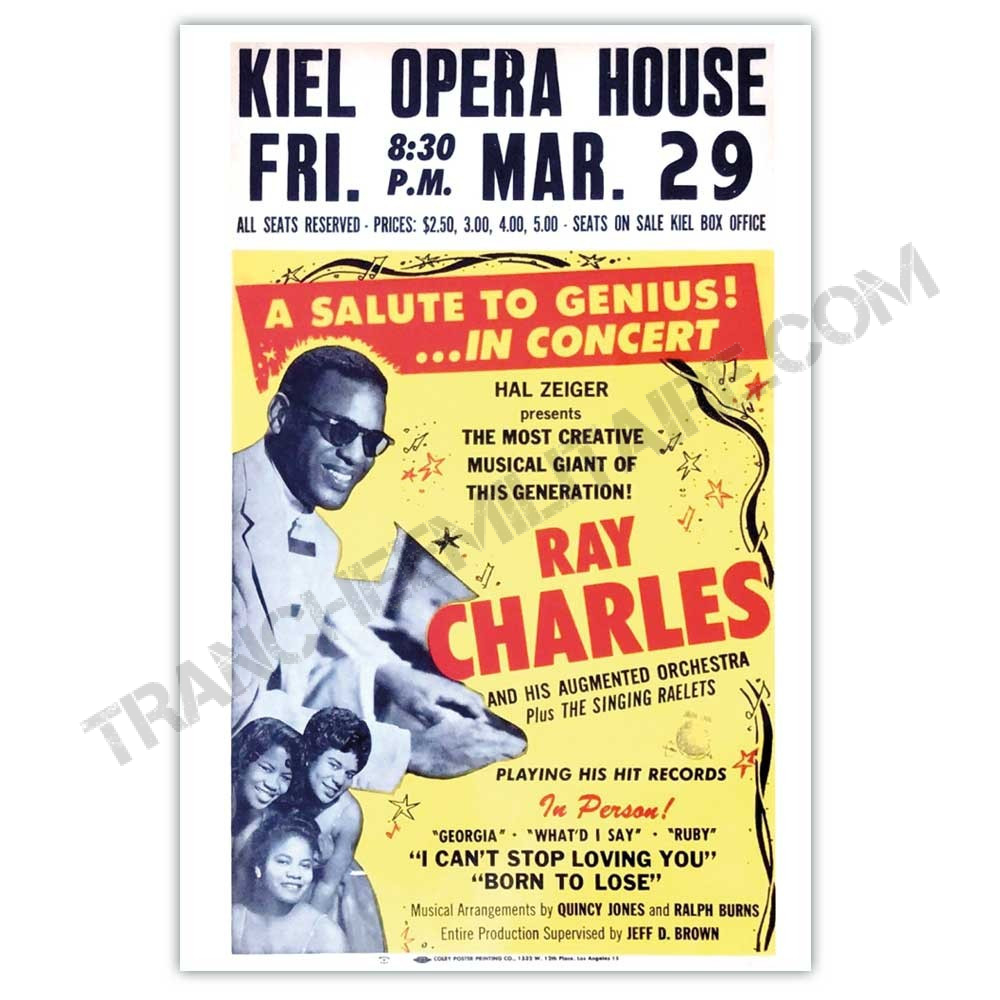 Affiche Ray Charles