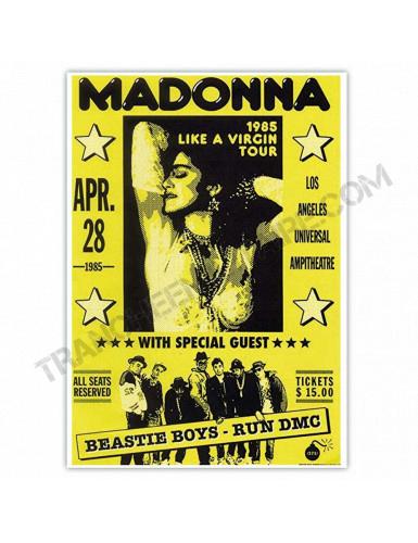 Affiche Madonna