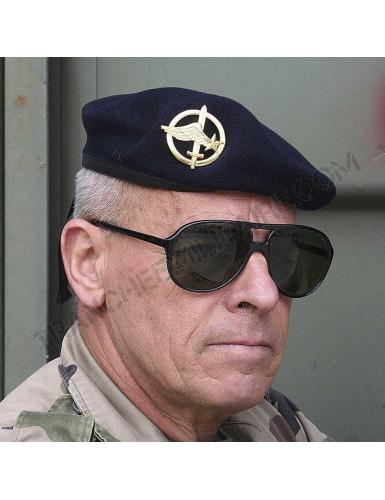 Béret commando bleu marine Armée française (neuf)