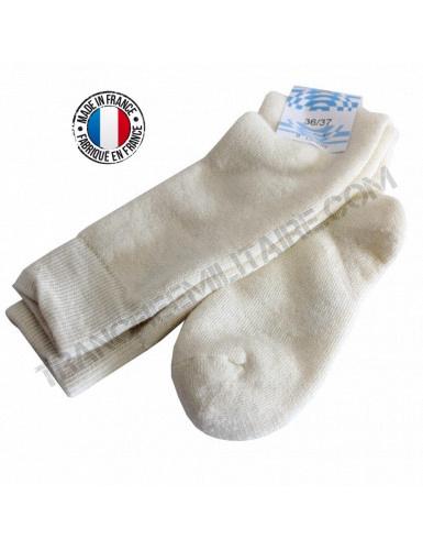 Chaussettes OTAN couleur écru