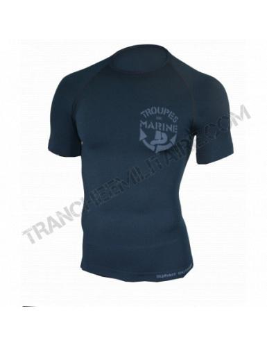 Tee-shirt thermorégulant Troupe de Marine