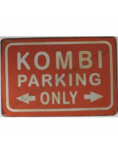 Plaque KOMBI Volkswagen en métal