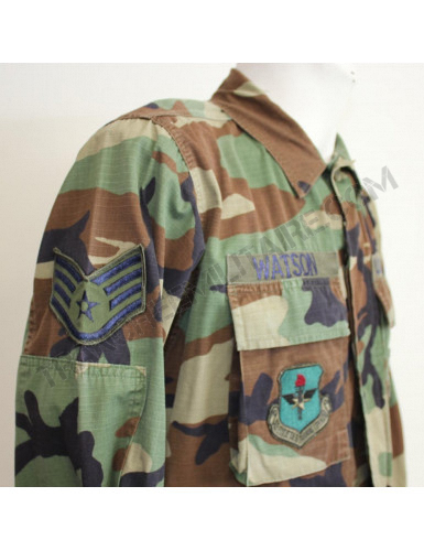 Veste US Air Force camouflage woodland