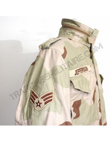 Parka M65 US AIR FORCE Desert (avec liner)