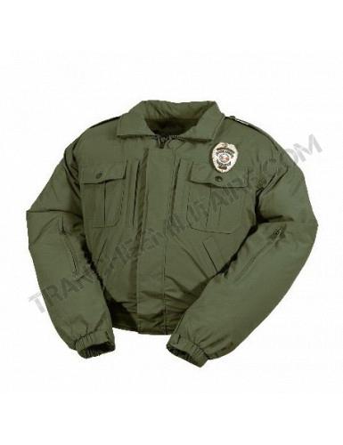 Blouson de moto type Police américaine