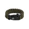 Bracelet de survie EDCX Cobra (vert)