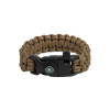 Bracelet de survie EDCX Cobra (coyote)