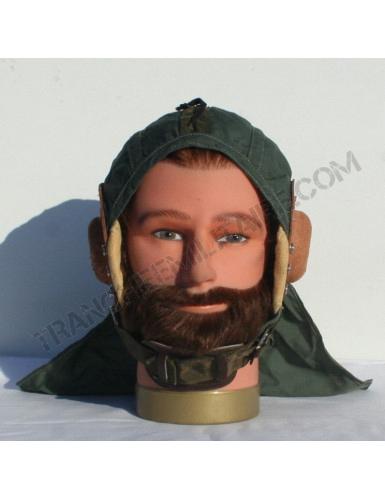 Serre tête casque pilote Guéneau années 60