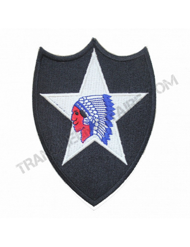Badge 2nd INFANTRY DIVISION (reproduction)
