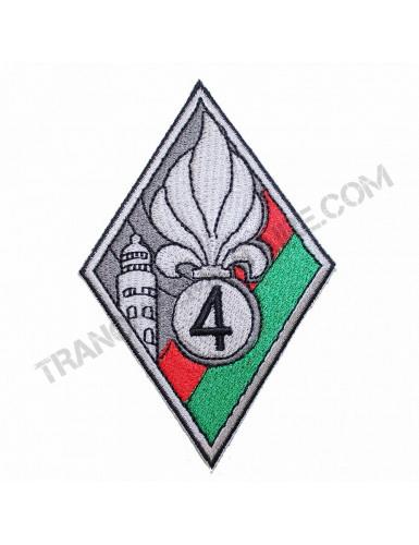 Badge Légion Etrangère 4ème Régiment