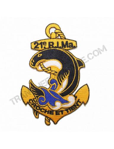 Badge 21ème Régiment d'Infanterie de Marine (Paratrooper Inc)