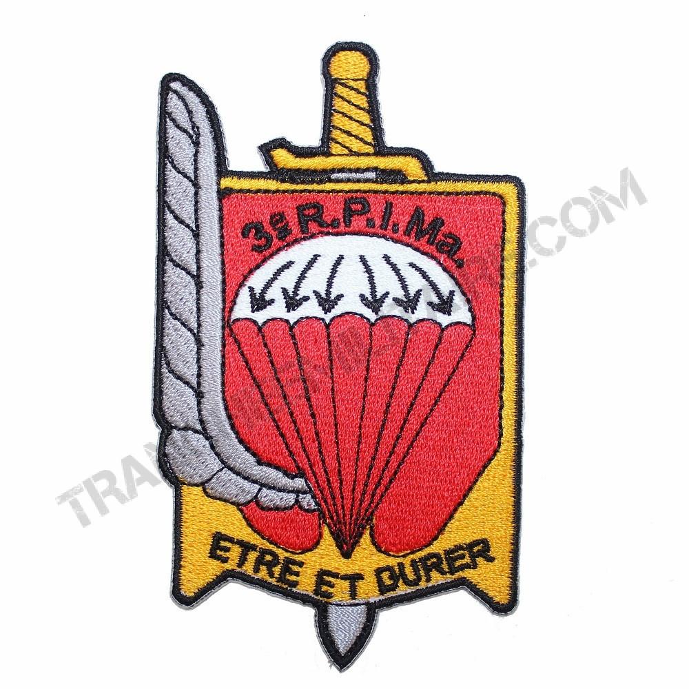 Badge 3ème Régiment Parachutiste d'Infanterie de Marine (3ème RPIMa)