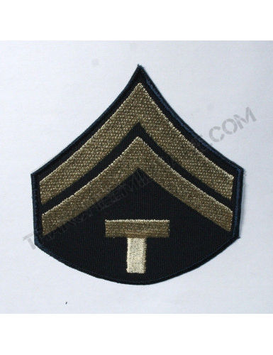 """Lot de 2 Grades US Army Seconde Guerre Mondiale """"Caporal technicien"""""""