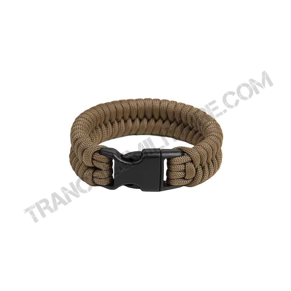"Bracelet de survie EDCX ""Fish"" (coyote)"