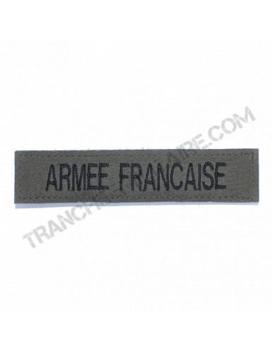 Bande patronyme Armée France