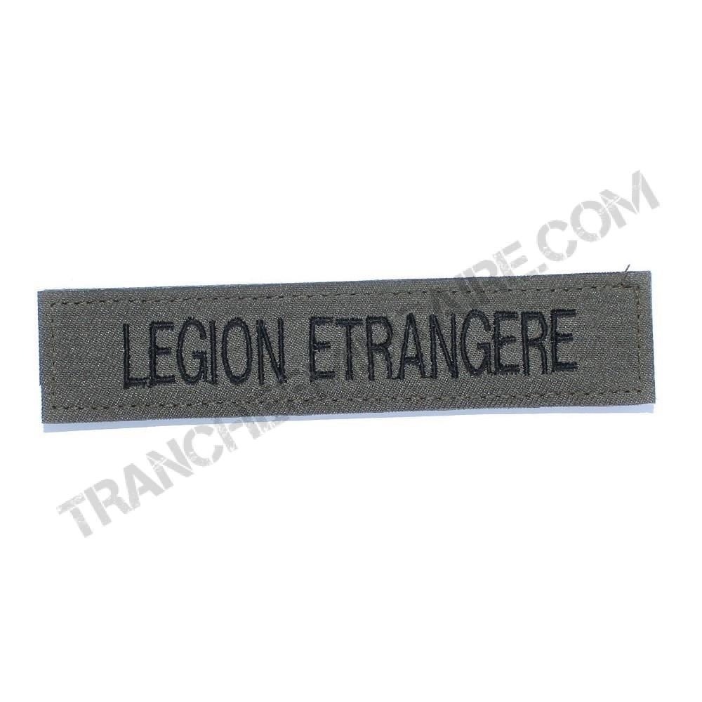 Bande patronyme Légion Etrangère Kaki