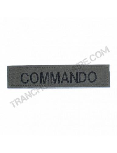 Bande patronymique Commando