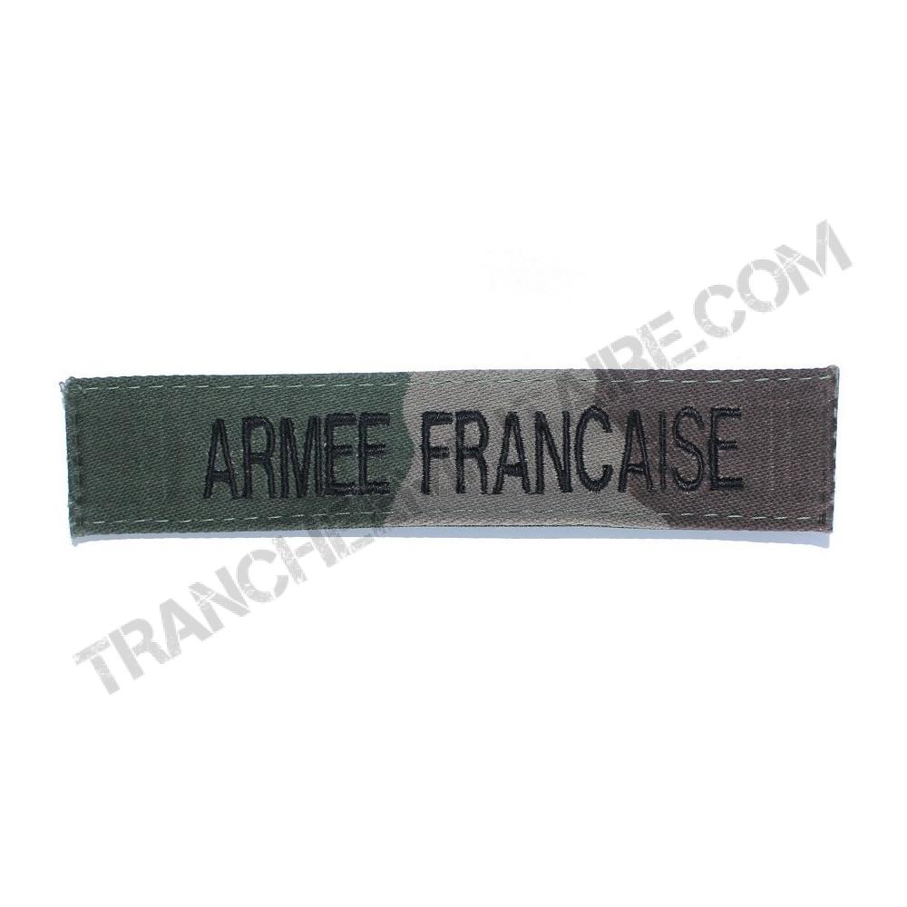 Bande patronymique Armée Française