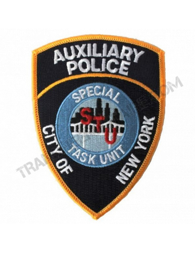 Badge auxiliaire de police NYC