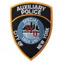 Badge auxiliaire de police NYC