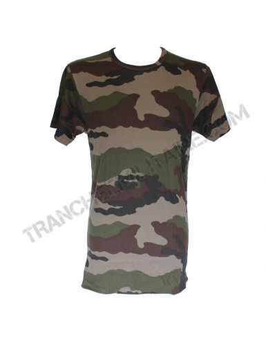 Tee-shirt camouflée Armée française original