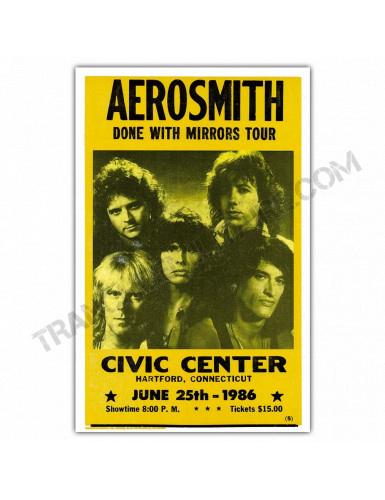 Affiche Aerosmith Civic Center