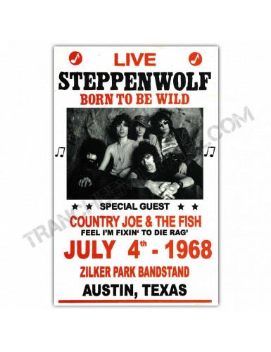 Affiche Steppenwolf