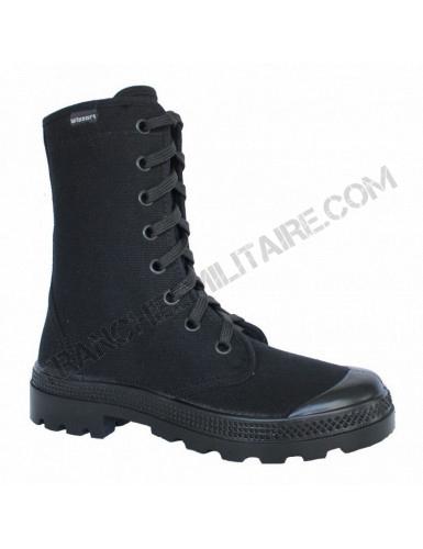 Chaussures en toile Wissart (noires)