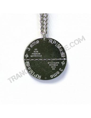 Plaque d'identité 3ème Régiment de Parachutistes d'Infanterie de Marine