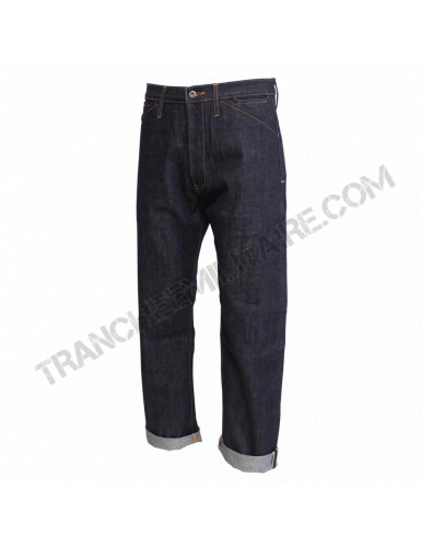 Pantalon Denim US Navy avec martingale
