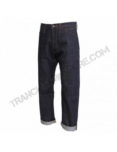 Pantalon Denim US Navy avec martingale