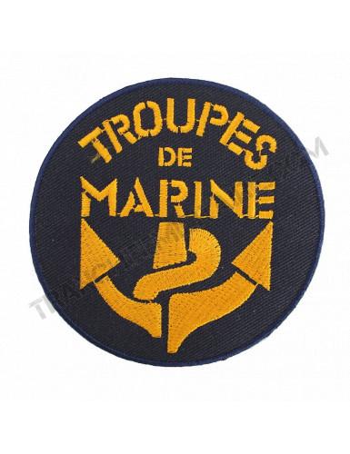 Badge Troupes de Marine